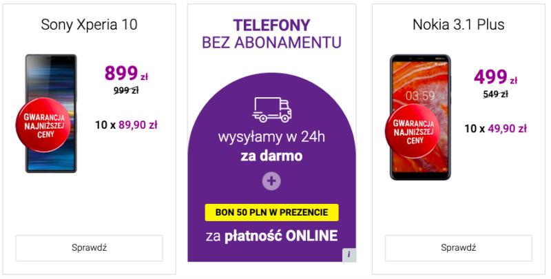 Bon 50 zł za płatność online w eshopie