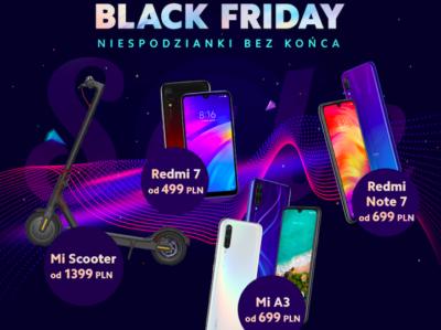 Xiaomi - promocje na Black Friday