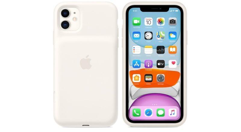 Apple wydała etui z akumulatorem dla iPhone 11 z oddzielnym przyciskiem do włączenia aparatu