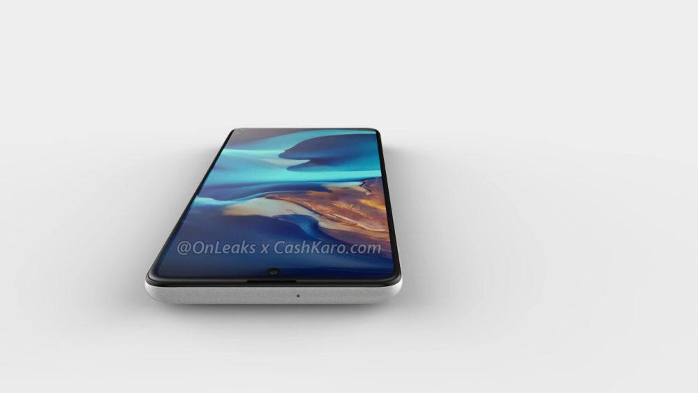 Samsung Galaxy A71: ujawniony projekt nowego smartfona z czterema kamerami trafił do sieci