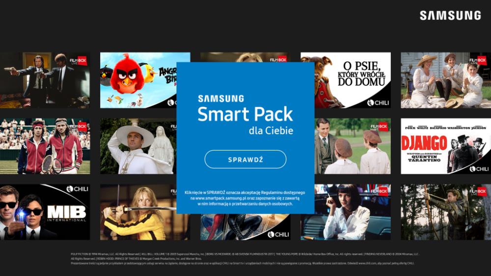Samsung Smart Pack dla posiadaczy Smart TV