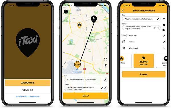 Nowa wersja aplikacji iTaxi 4.0 już w appmarketach, a wraz z nią przełomowa usługa – Bilet iTaxi