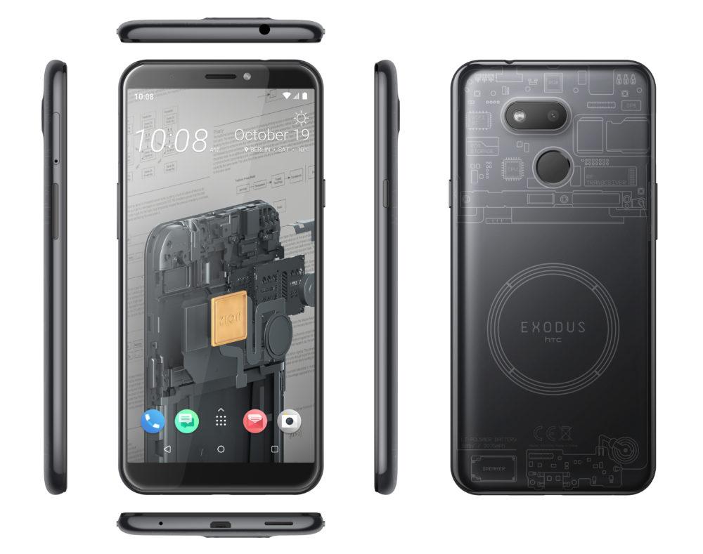 HTC wprowadza EXODUS 1s - pierwszy przystępny cenowo smartfon z obsługą pełnego węzła Bitcoin