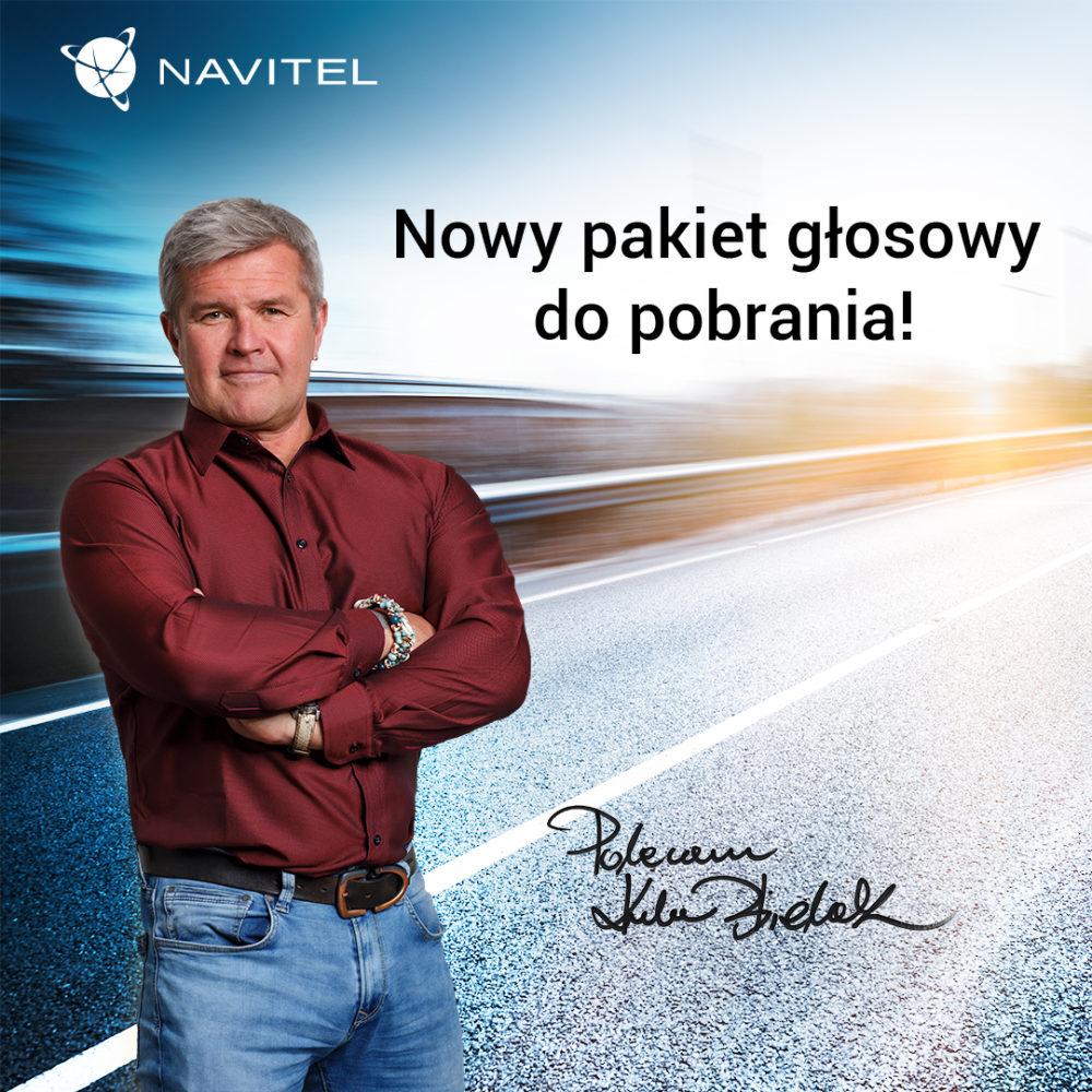 Nowy pakiet głosowy w nawigacjach GPS i aplikacji mobilnej NAVITEL