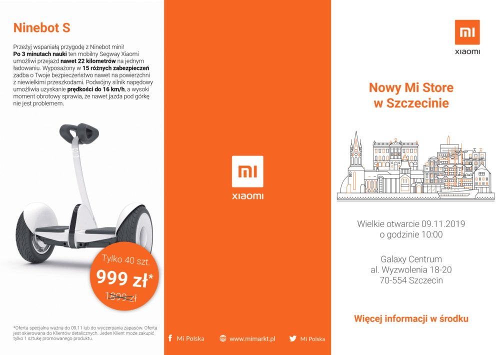 Xiaomi otwiera kolejny Mi Store - pierwszy w Szczecinie, a dwunasty w Polsce