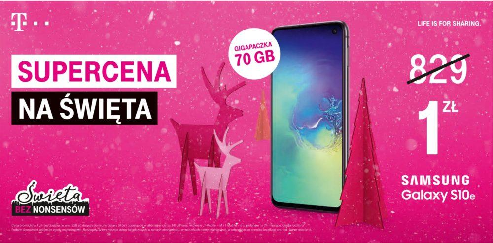 Spraw sobie prezent z T‑Mobile – wybierz telefon lub tablet w atrakcyjnej promocji