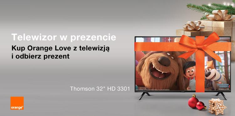 Telewizor oraz drugi smartfon w prezencie pod choinkę w świątecznej ofercie Orange