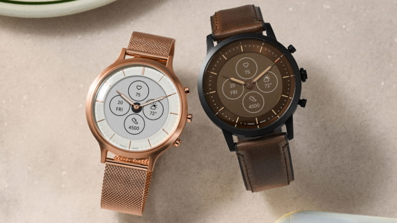 Fossil wydał hybrydowe inteligentne zegarki z prawdziwymi strzałkami