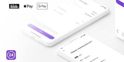 Od dziś w Play24 wygodnie opłacisz fakturę za pomocą Apple Pay, Google Pay lub BLIKA