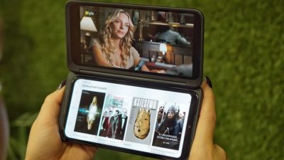 IPLA i Eleven Sports na LG G8X ThinQ Dual Screen. Pierwsze polskie aplikacje wykorzystujące moc dwóch ekranów!