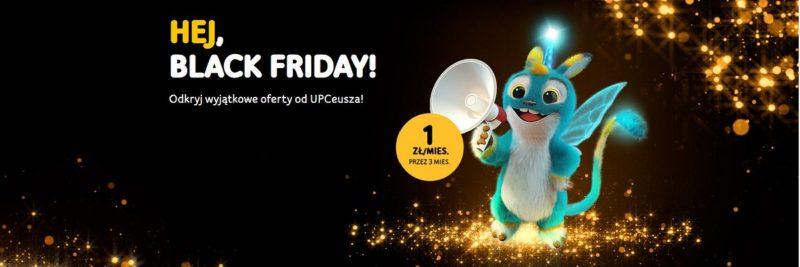 Black Friday w UPC Polska: trzy za jeden