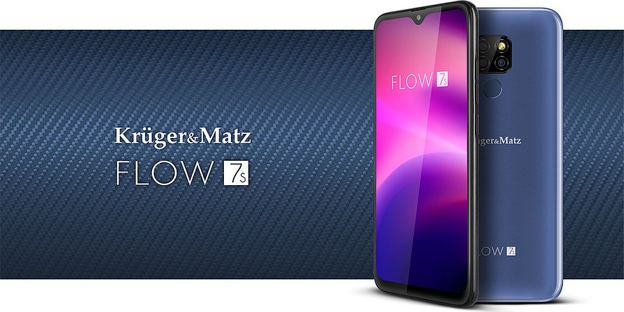 FLOW 7S – nowy smartfon w ofercie Kruger&Matz