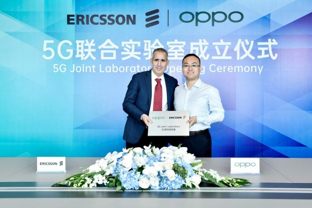 OPPO i Ericsson uruchamiają Laboratorium 5G