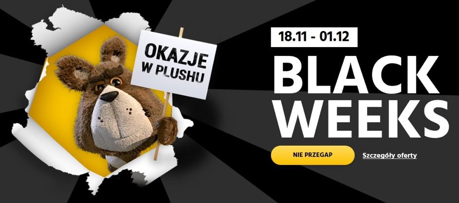 Black Weeks w Plusie i Plushu, czyli czarny piątek trwa aż dwa tygodnie
