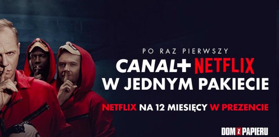 CANAL+ i Netflix wspólnie zaoferują polskim klientom najlepsze filmy, seriale i sport w ramach jednego pakietu 1