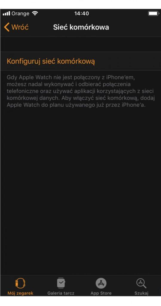 Już jest w Orange Flex! eSIM dla Apple Watch