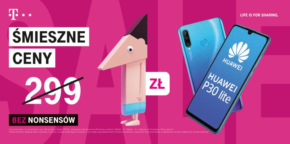 Huawei P30 Lite w promocji Śmieszne Ceny