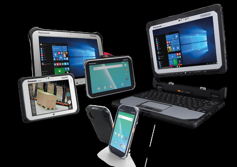 Panasonic toughbook liderem rynku wzmocnionych tabletów inotebooków w europie