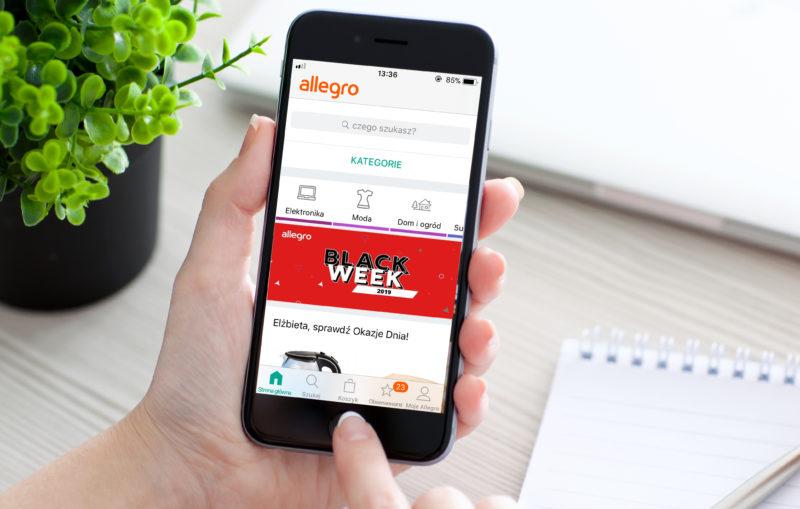 Allegro Black Week 2019 był największym festiwalem zakupowym w historii