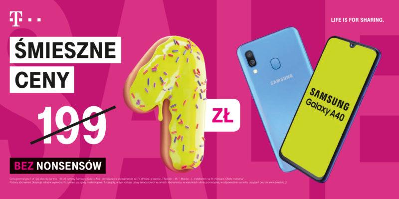 Samsung Galaxy A40 w promocji Śmieszne Ceny
