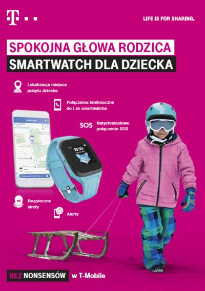 Zegarek Family Watch od T‑Mobile pomoże zadbać o bezpieczeństwo najmłodszych