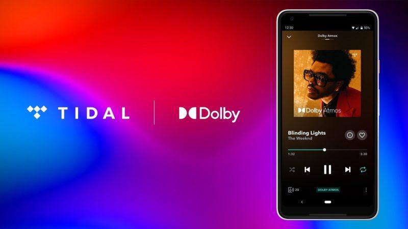 Dźwięk w technologii Dolby Atmos już dostępny dla użytkowników TIDAL