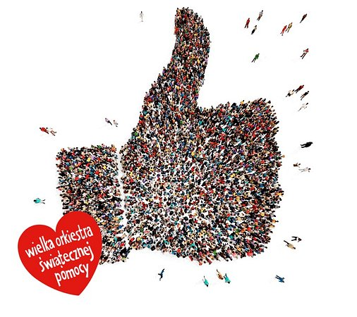 Play wspiera WOŚP - wszystkie kciuki na aplikację Play24!