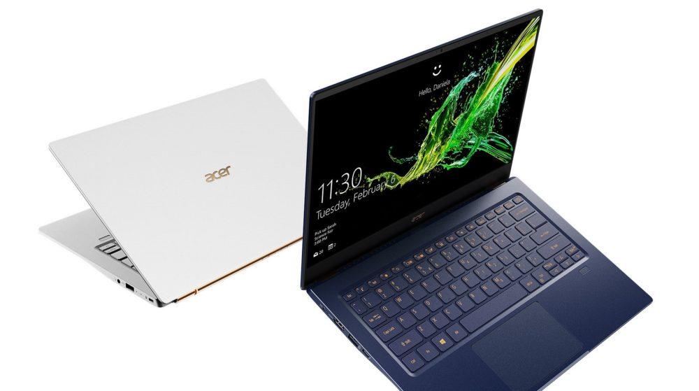 ajnowsze modele Acer Swift i Aspire dostępne w Polsce z energooszczędnymi procesorami 10. generacji Intel Core