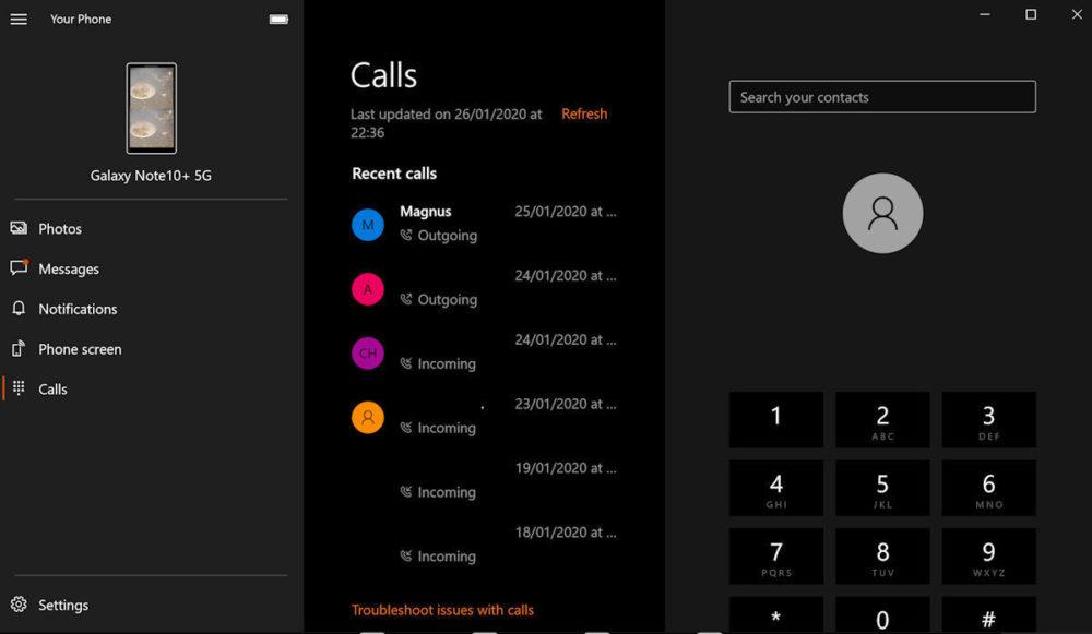 Połączenia za pomocą smartfona z Windows 10 stały się dostępne dla wszystkich