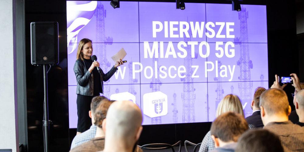 Pierwsze miasto 5G w Polsce z Play