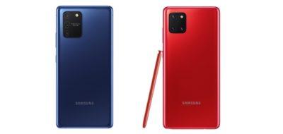 Samsung prezentuje Galaxy S10 Lite i Note10 Lite