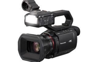 Panasonic przedstawia najmniejszą i najlżejszą kamerę 4k 50p/60p