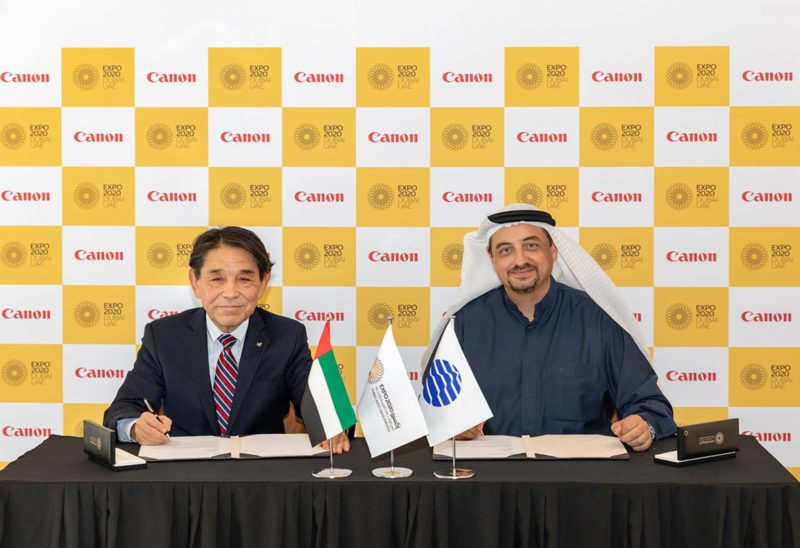 Canon partnerem EXPO 2020 w Dubaju