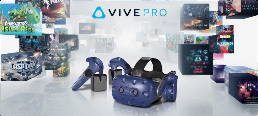 HTC ogłasza nowe ceny dla zestawów do VR z rodziny Vive Pro