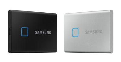 CES 2020 – Samsung prezentuje przenośny dysk SSD T7 Touch
