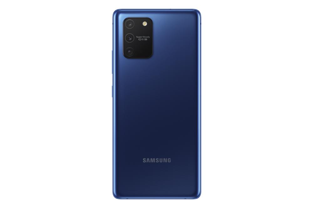 SM G770 GalaxyS10Lite Back PrismBlue