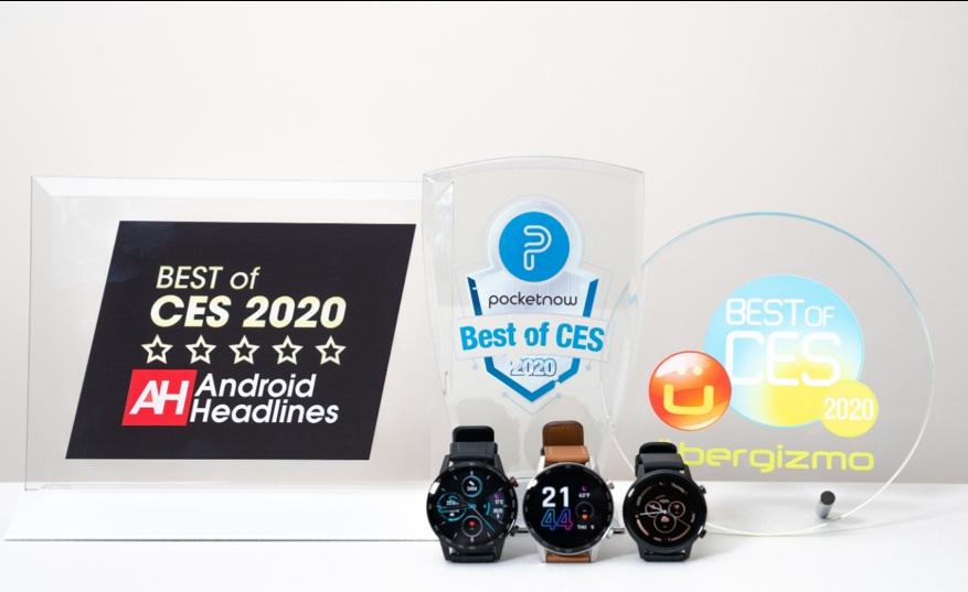 """ces HONOR MagicWatch 2 został odznaczony przez globalne media nagrodą """"Best of CES"""" 2020"""