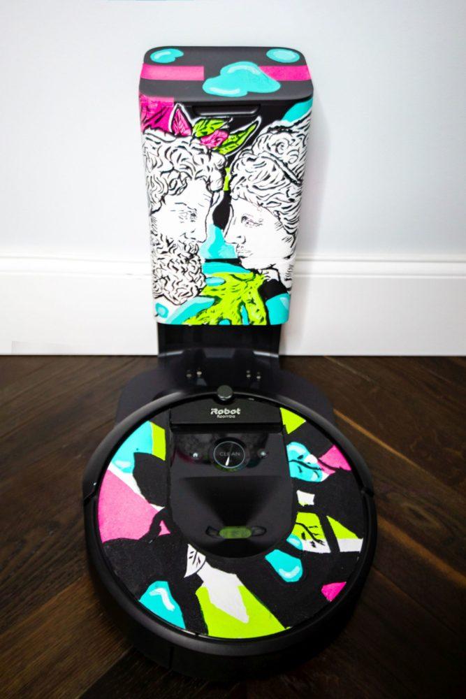 Wyjątkowy iRobot Roomba - sztuka w szlachetnym celu