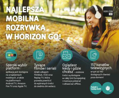 22 nowe kanały w Horizon Go od UPC Polska