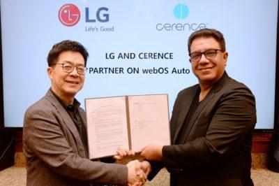 LG i Cerence wspólnie rozwijają platformę do samochodów przyszłości opartą na sztucznej inteligencji