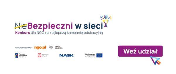 Konkurs dla NGO na najlepszą kampanię edukacyjną