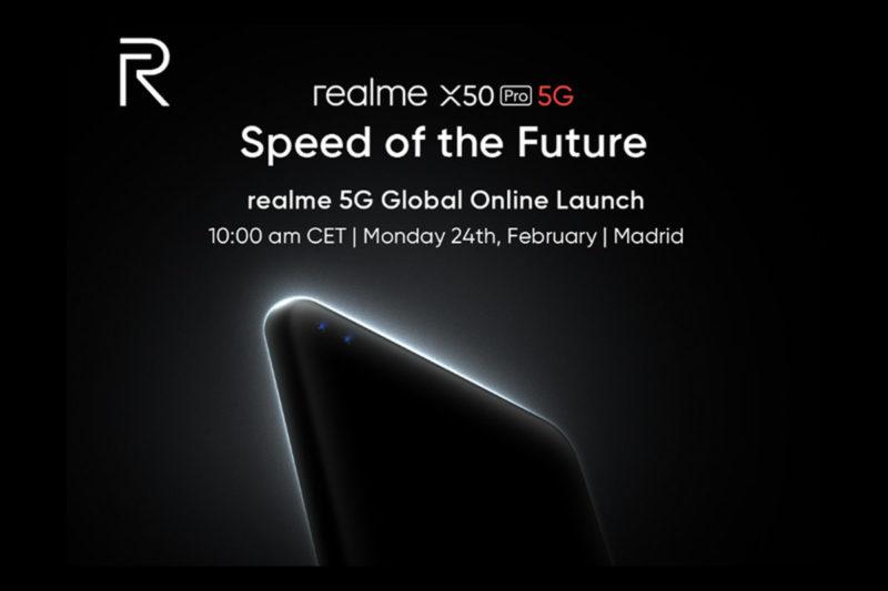realme organizuje światową premierę swojego flagowca realme X50 Pro 5G