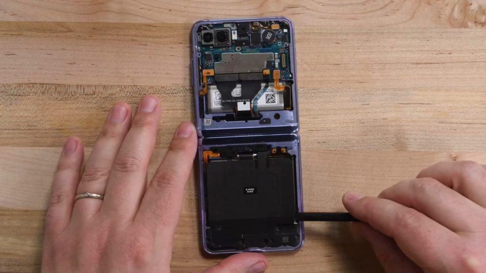 Samsung Galaxy Z Flip: jak wygląda nowa generacja clamshell od środka