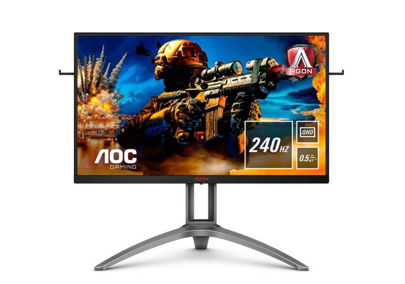 monitor Quad HD z odświeżaniem 240 Hz