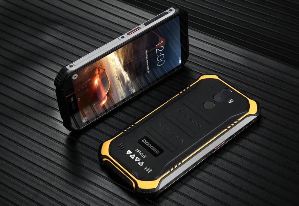Doogee S40 i S95 pro – pancerne smartfony dla osób o najbardziej ekstremalnych profesjach