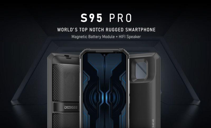 Doogee S40 i S95 pro – pancerne smartfony dla osób o najbardziej ekstremalnych profesjach Doogee S95 Pro źródło Doogee