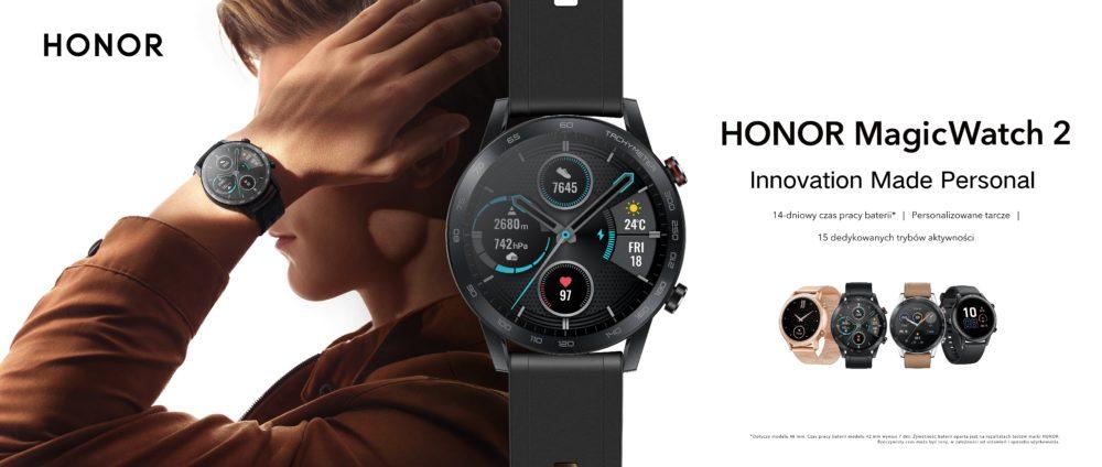 HONOR prezentuje zupełnie nowy HONOR MagicWatch 2 z 14-dniowym czasem pracy na baterii HONOR MagicWatch2
