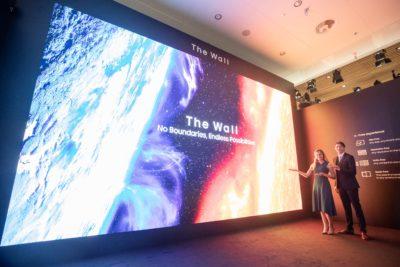 Samsung prezentuje ekran The Wall for Business o przekątnej niemal 15 metrów