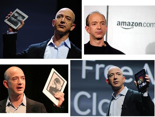 Jeff Bezos amazon kindle by