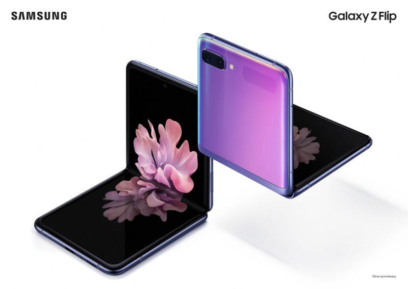 Przyszłość zmienia kształt: wyznaczaj trendy z Galaxy Z Flip